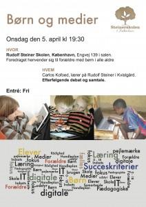 Invitation til foredrag om Børn og medier (1)